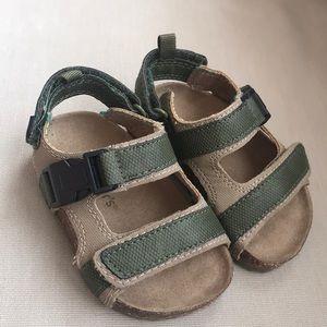 Toddler's Carter Brand Sandals (Size 5)